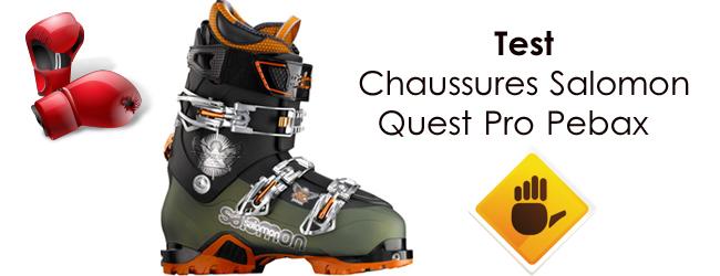 Salomon Rando Modèle Freeride Pro Quest Pebax Ski 2011 qwRqrg