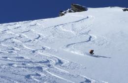 Descente sur le glacier du Gefrey